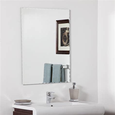 decor wonderland madeline modern bathroom mirror beyond