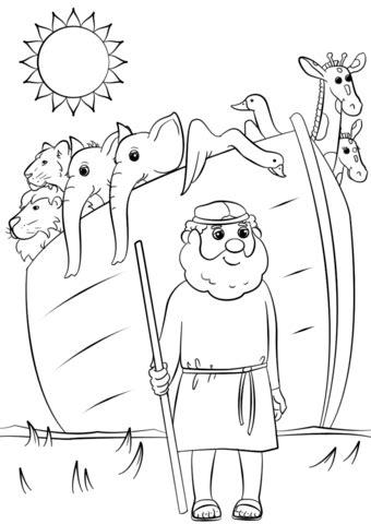 coloring pages noah s ark animals noah s ark animals two by two coloring page free