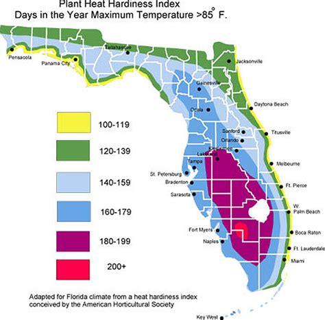 florida temperature map bill s garden