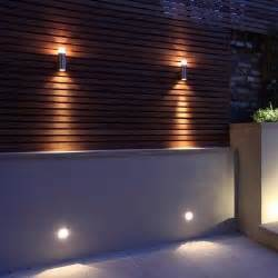 outdoor fence lighting 25 best ideas about garden wall lights on