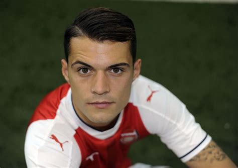 arsenal transfer news granit xhaka s awkward tattoo