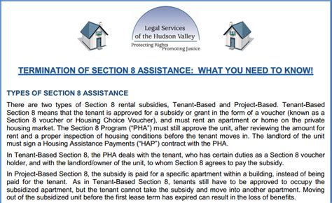 section 8 assistance new york