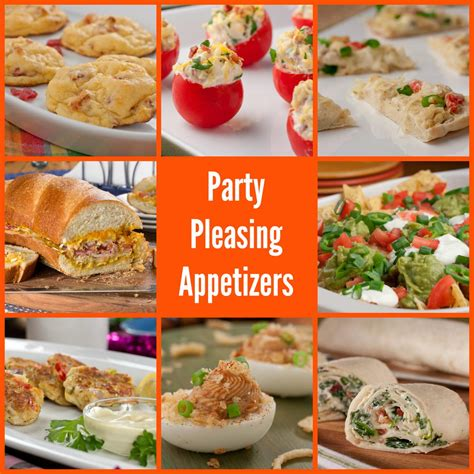 40 party pleasing appetizers mrfood com