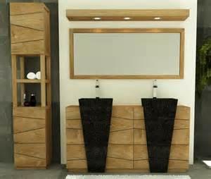 meuble sdb teck achat vente meuble de salle de bain walk meuble
