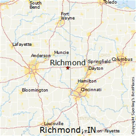 Richmond Indiana best places to live in richmond indiana