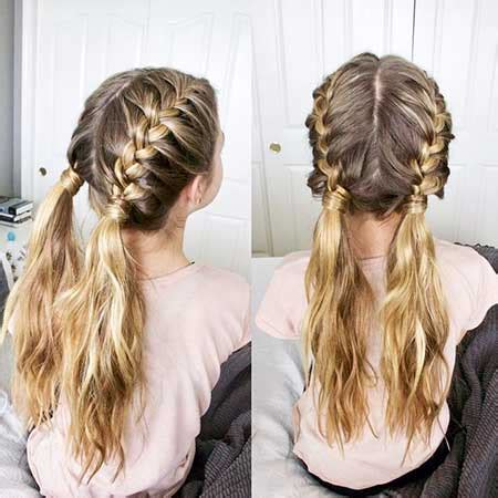 14 pictures of two french braid hairstyles | hairstyles