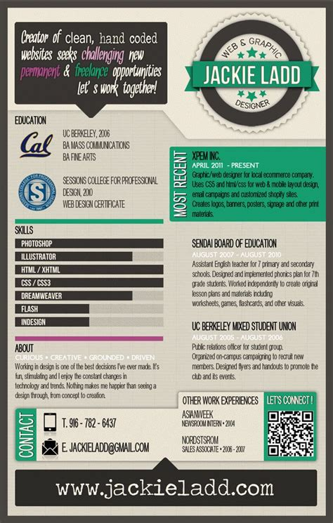 infographic resume template for teachers 17 best images about infographic resume on cool resumes business resume and