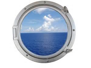 buy silver decorative ship porthole window 24 inch nautical