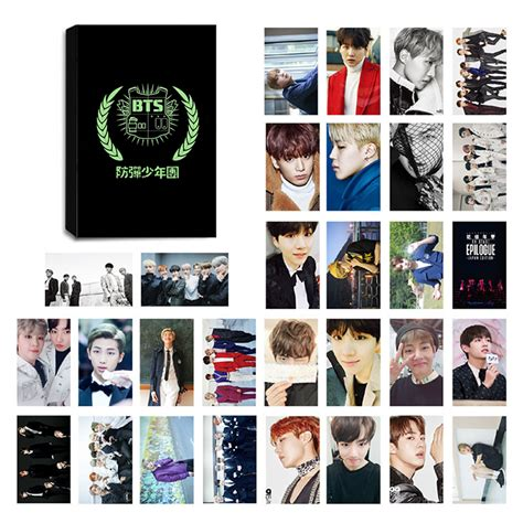 Photo Card Member Bts bts epilogue lomo photocard set kpop mall usa