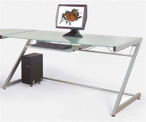 Modern Computer Desk For Home Black Contemporary Computer Desks Office Furniture