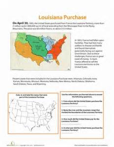 louisiana purchase map key 17 best images about the landmark history of the american vol 1 on new