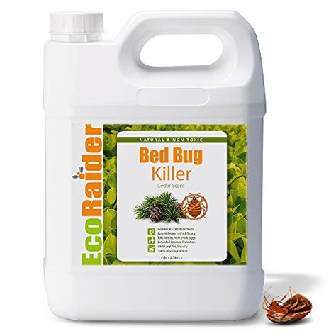 ecoraider bed bug spray ecoraider bed bug killer spray 1 gallon jug green non