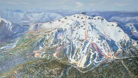 mammoth mountain map california mammoth mountain ski resort trail map mammoth lakes