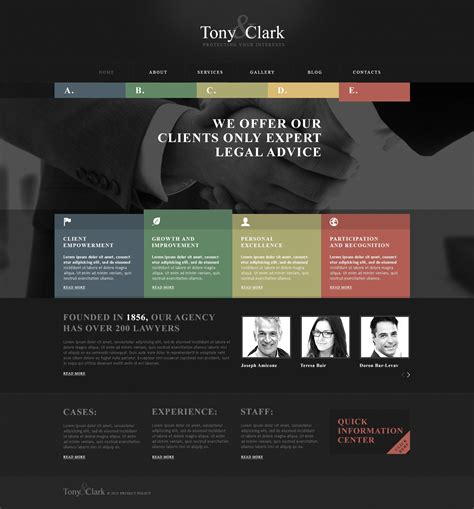 Solid Law Firm Wordpress Theme 45828 Lawyer Web Templates