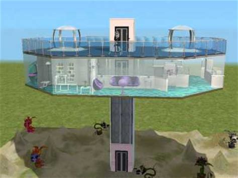 jetsons house mod the sims jetsons style sci fi home