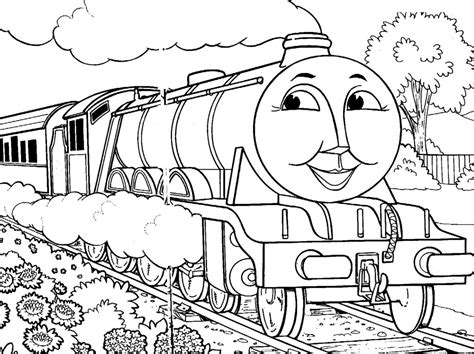 thomas coloring page pdf coloring pages thomas the train coloring pages train