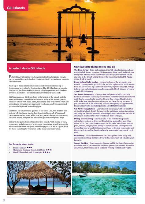 bali brochure   house  travel issuu
