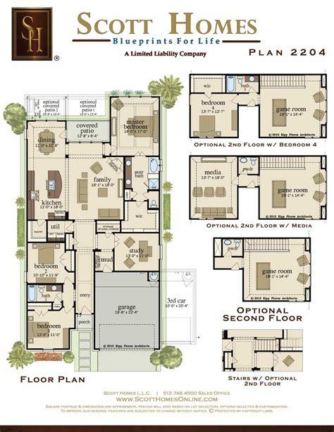 scott park homes floor plans scott homes plan 2204