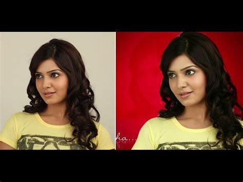 joomla tutorial in telugu how to change photo background in photoshop