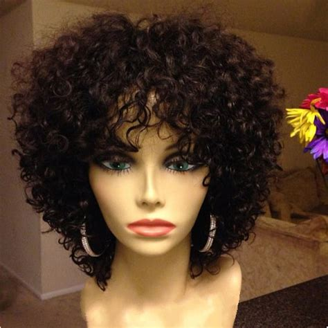 two toned asymetric bobs for black women pintrest 12 quot kinky curly wigs for african american women the same