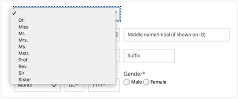 Form Design Gender | designing forms for gender diversity and inclusion ux