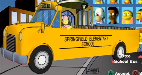 simpsons road rage vehicles wikisimpsons  simpsons wiki