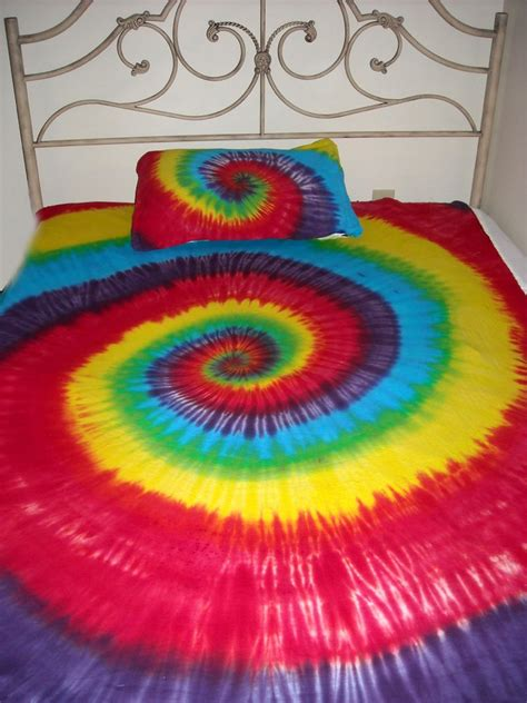 tie dye bedding tie dye hippie twin xl xlt college dorm bed sheets 3pc