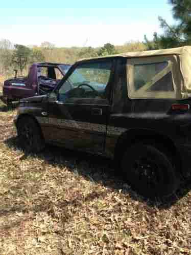 geo other 1995, tracker runs good and transmission is good