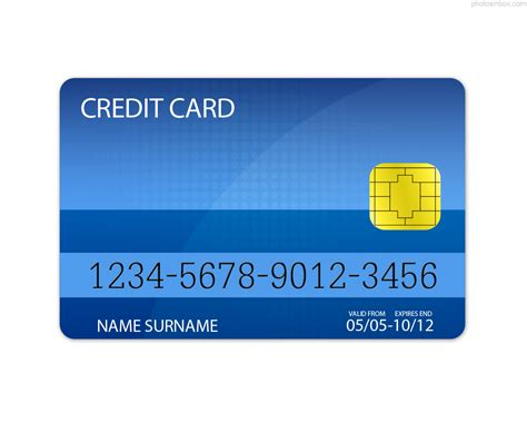 credit card template photosinbox