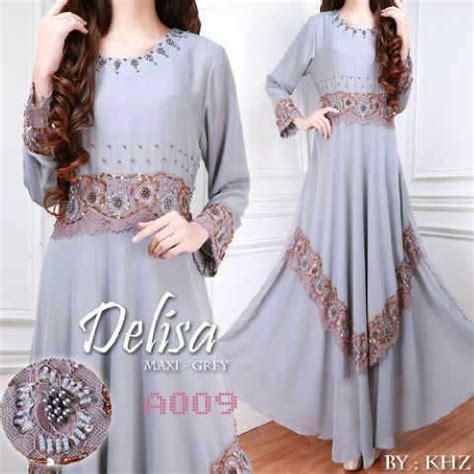 Delisa Maxi busana pesta delisa maxi a009 baju muslim modern butik