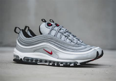 nike air silver nike air max 97 silver bullet release date info