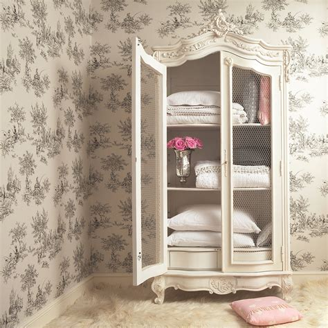 the french bedroom company provencal wire french display showcase french bedroom company