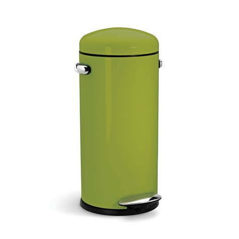 retro kitchen trash cans trash can on pinterest steel