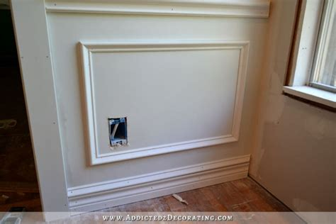 Putting Wainscoting On Walls How To Install Picture Frame Moulding The Easiest