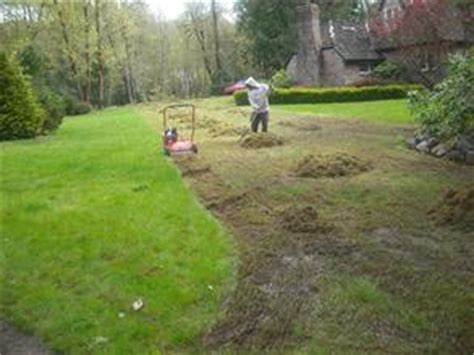 Lawn Thatching Aeration Services Portland Amp Vancouver Wa