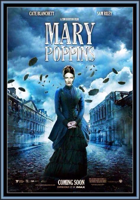 film disney mary poppins mary poppins disney cate blanchette tim burton 2016 film