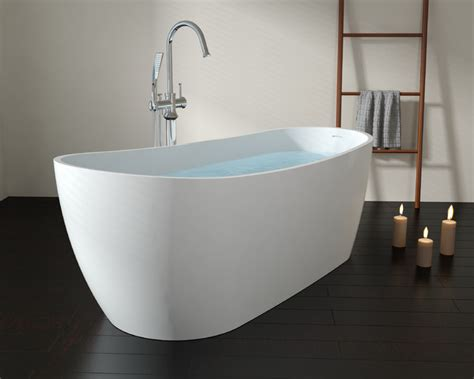freestanding stone resin bathtubs badeloft freestanding bathtub bw 09 upc certified