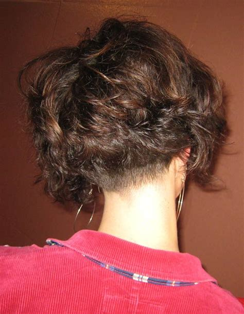 high nape permed haircut high nape curly hairstyles short permed wedge wedge cuts