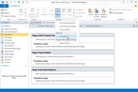 workflow template sharepoint 2013 updates for developers in project 2013
