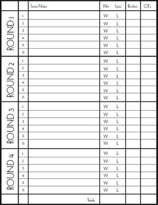 bunco template cards bunco score card this is a pretty printable score