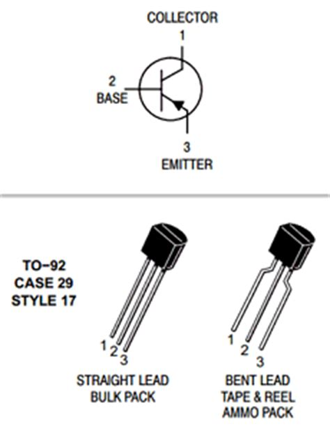 bc557b transistor bc557b datasheet pdf datasheetcafe
