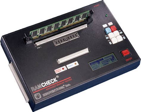 memory ram tester ramcheck memory tester for ddr dimm sodimm and simm testing