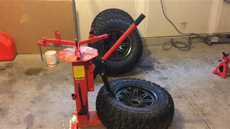 manual tire changer youtube