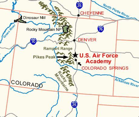 usafa map air academy locate 1