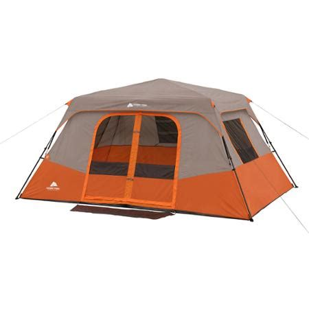Ozark Trail Cabin Tents by Ozark Trail 8 Person 2 Room Instant Cabin Tent Walmart