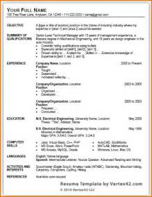 resume templates microsoft office word 2003 bodyguard