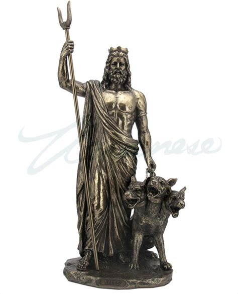 greek god statues hades greek god of the underworld statue sculpture