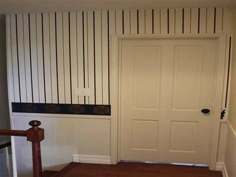Faux Wainscoting Wallpaper walls faux wainscoting wallpaper simple ways to
