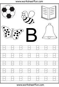 alphabet tracing worksheets b quotes