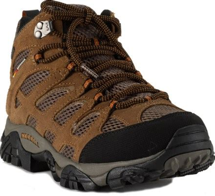 Sepatu Merrel merrell moab mid waterproof hiking boots s at rei